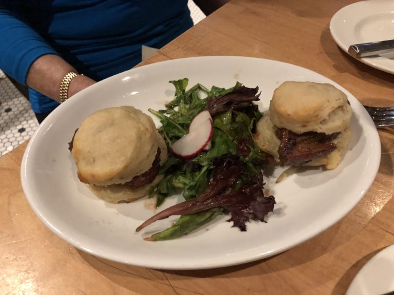 the sliders at the Southern on your weekend in Nashville