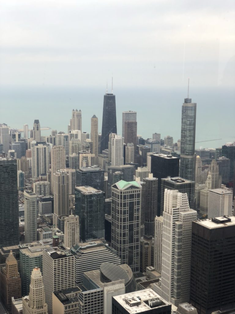 View of Chicago from the Skydeck
