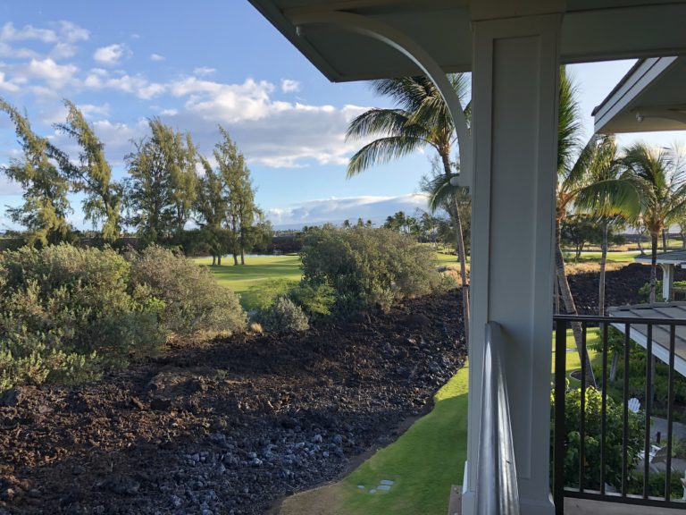 View from the Balcony HGVC Kings' Land Big Island