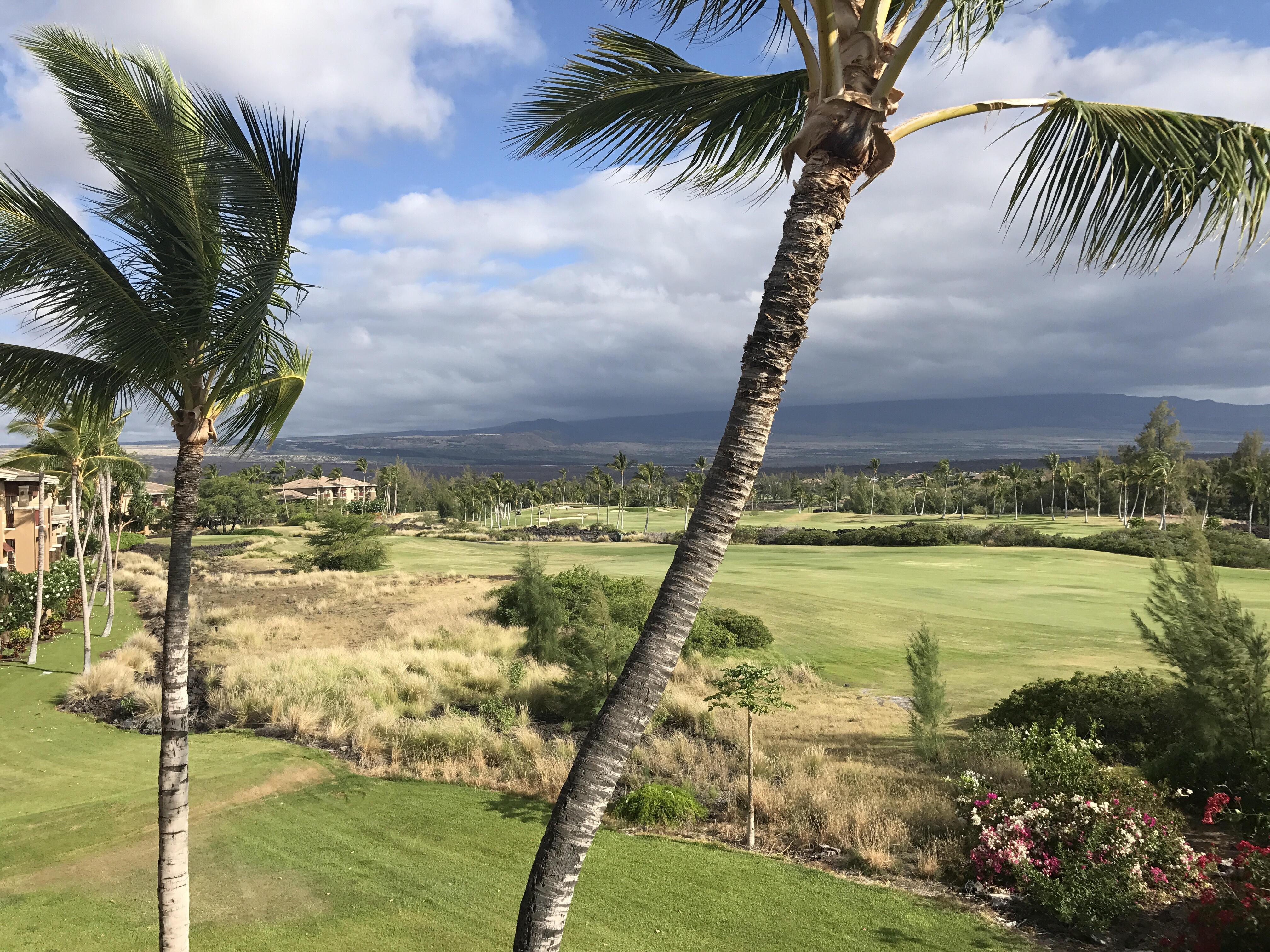 Clouds over Mauna Kea At HGVC Bay Club Big Island