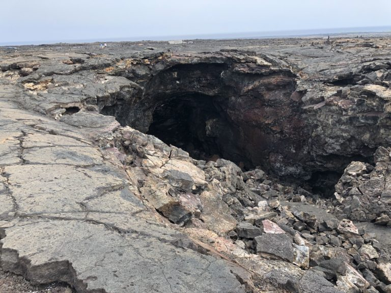 The Exit is a little trickier at the Lava Tube a fabulous free thing to do on the Big Island