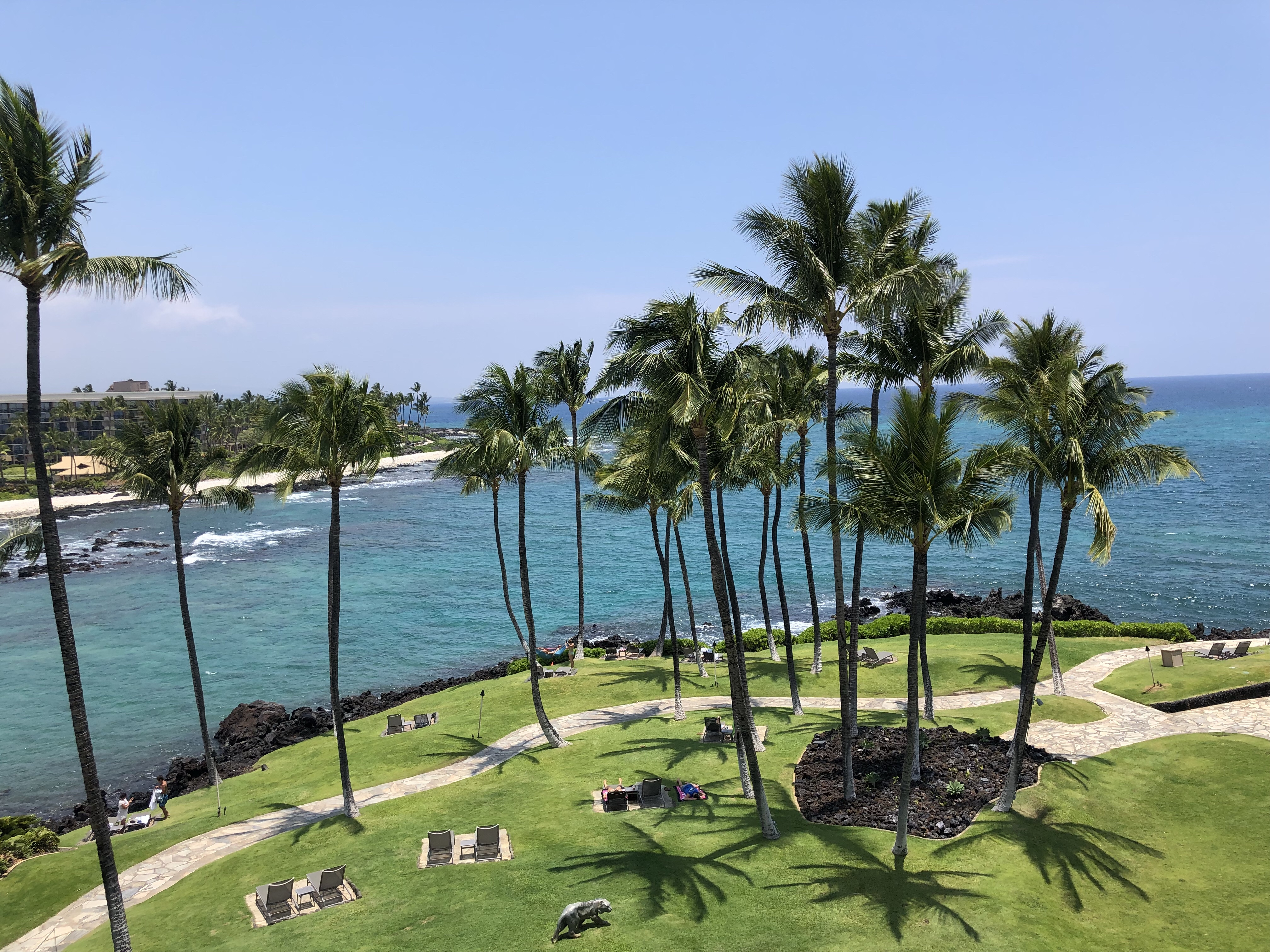 Gorgeous Views and Amazing Grounds at Hilton Waikoloa Village