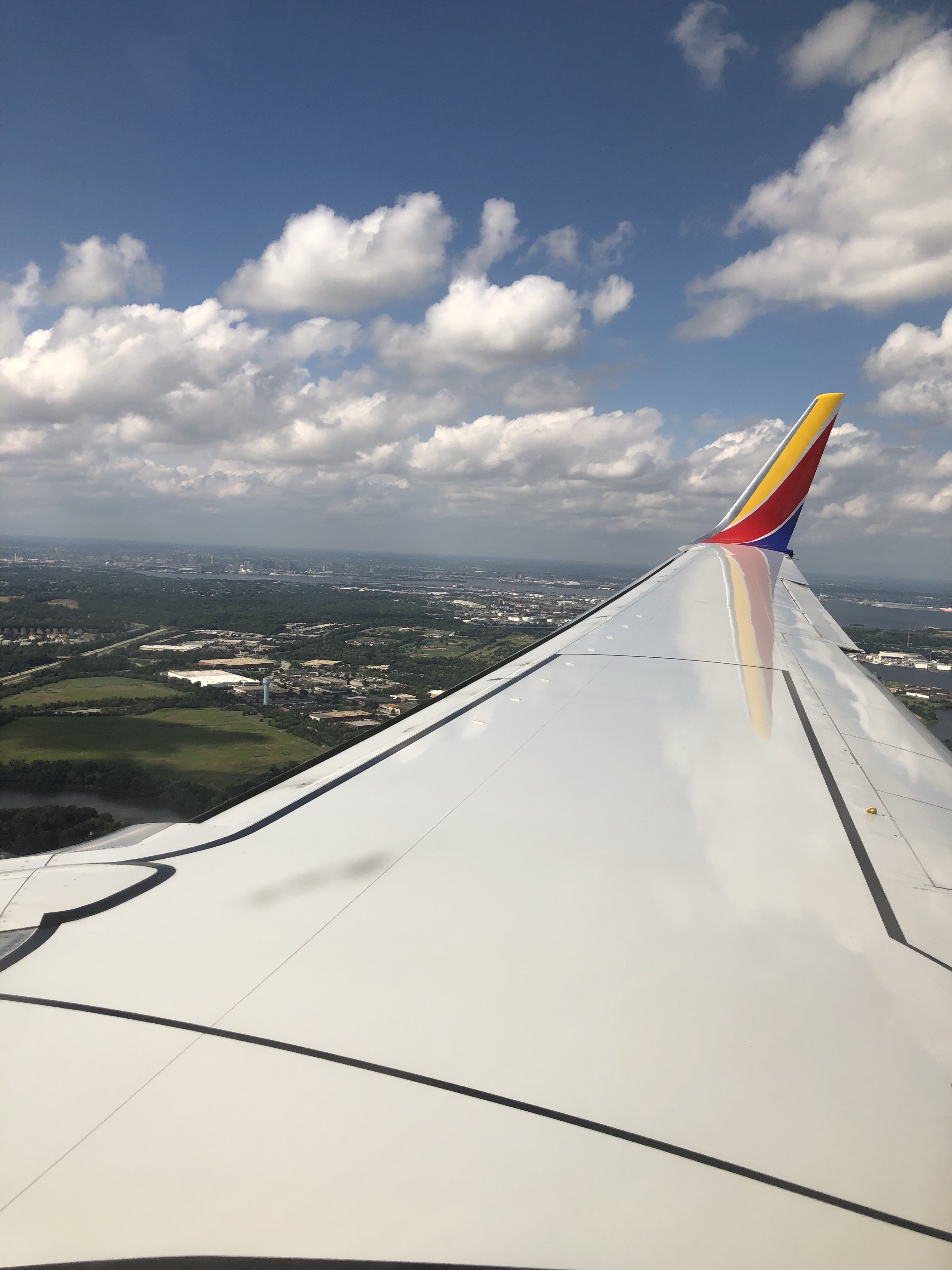 View from Southwest flight